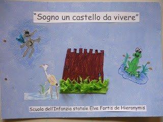 """""""Sogno un castello da vivere"""": i bambini inventano la storia e costruiscono un libro """"magico"""""""