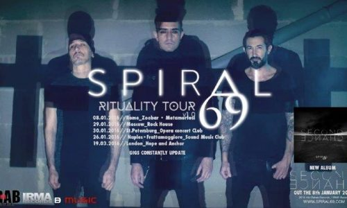 """Ritornano gli Spiral69 con  """"Ritual"""""""