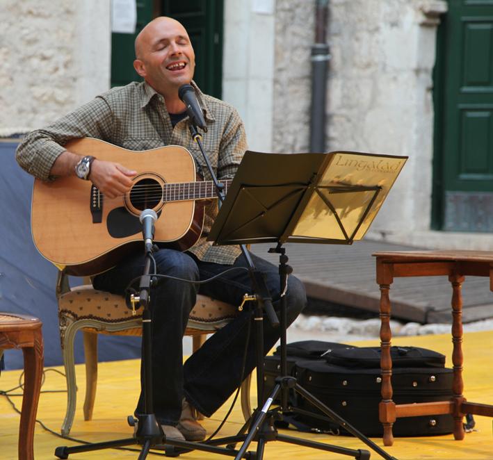 Presentazione-concerto al Festival delle Storie 2013 - Atina