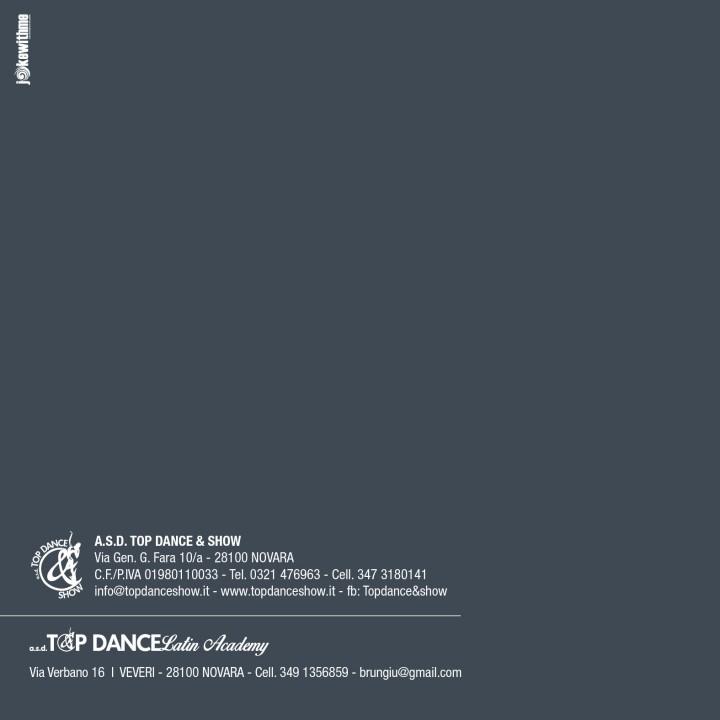 Brochure 20x20 TOP DANCE 20153