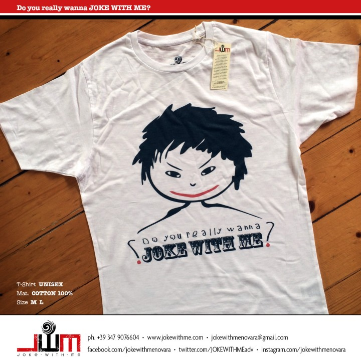 01 Cartoline Singole JWM t-shirt new