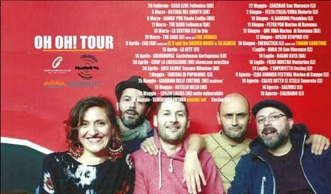 Triplo appuntamento live a Milano per la band toscana Malamanera