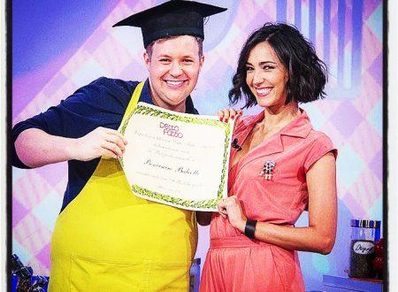 Beniamo Baleotti, lo chef di Detto Fatto, riceve la Laurea Onoris
