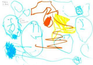 """Il disegno, il mondo  """"parlante"""" del bambino"""