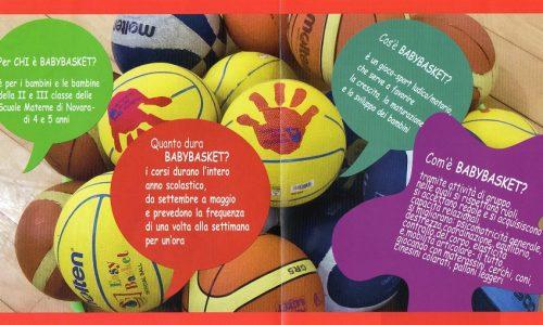 All'Istituto Salesiani di Novara nuovi corsi di Babybasket