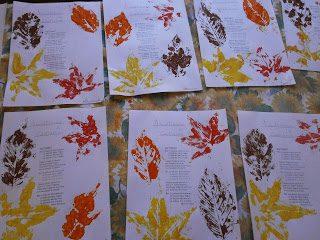 """Tante foglie colorate per """"La ballata d'autunno"""""""