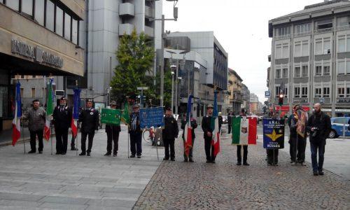 Gli studenti dell'Istituto Margherita Hack presenti alla Commemorazione dei Martiri