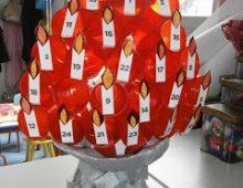Un albero dell'Avvento…di fuoco!!!