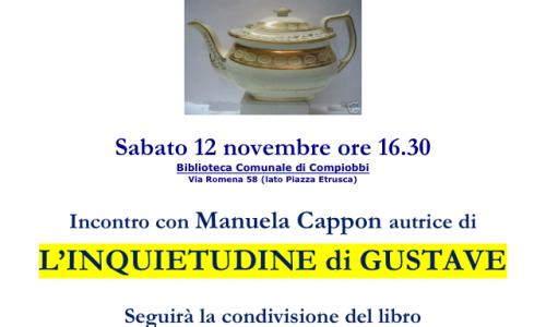 """A Fiesole il """"Tè alla cinque"""" con la scrittrice Manuela Cappon e Paola Mastrocola"""