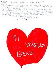 Chiara ci scrive…