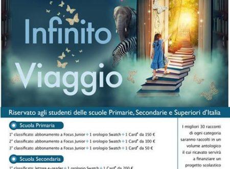 """""""Fantasia, infinito, viaggio"""": il concorso letterario per studenti promosso dall'associazione Tangorra"""