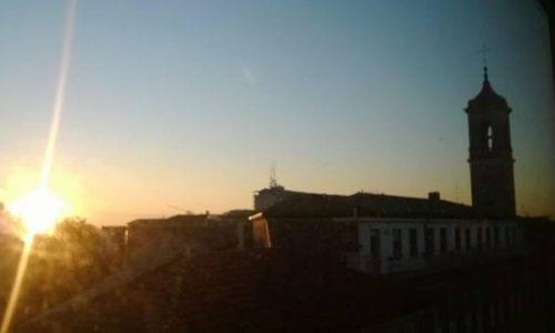 Foto dei lettori: Novara…l'alba sul Baluardo