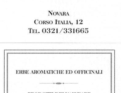"""""""L'Erbolario"""" di Corso Italia a Novara"""