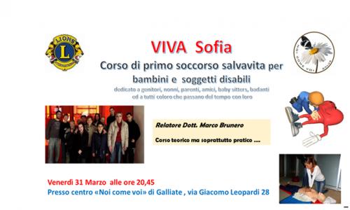 Il 31 marzo a Galliate corso di primo soccorso salvavita per bambini e disabili