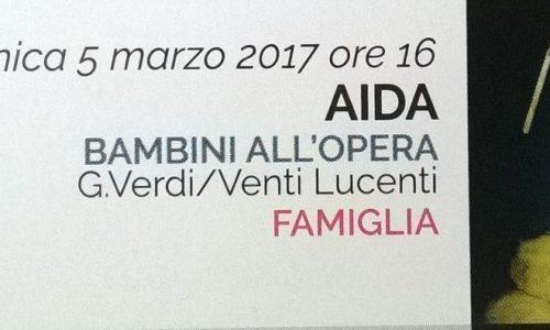 """""""Bambini all'opera"""": gli studenti novaresi portano in scesa l'Aida al teatro Coccia"""