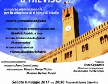 """Il 6 maggio a Treviso il prestigioso concorso musicale """"Voci giovani"""""""
