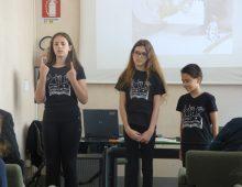 """Marcello Valli e i Bimbilis alla Biblioteca ragazzi di Novara con """"Le fiabe del silenzio"""""""