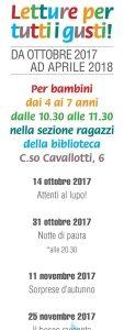 """A Novara """"Letture per tutti i gusti"""" con i volontari della Biblioteca Ragazzi"""