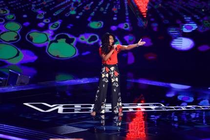 "Grande successo per Meriam Jane a ""The Voice of Romania"""