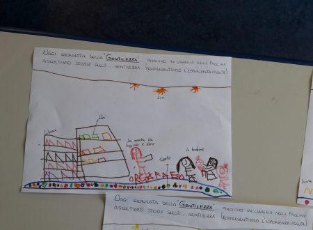 """I bambini della scuola dell'infanzia Elve alla libreria Paoline per la """"Giornata della Gentilezza"""""""