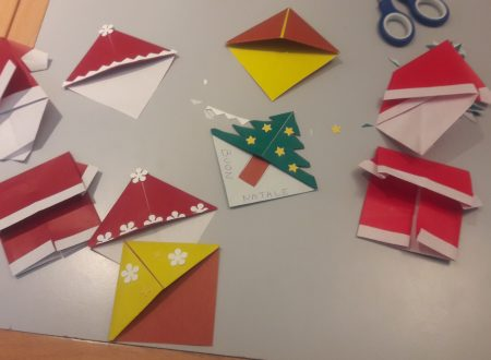 Origami di Natale alla Biblioteca di Novara per insegnanti e volontari