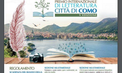 Bando del Premio Internazionale di Letteratura Città di Como