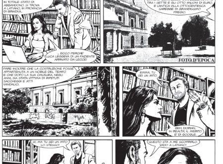 """Alessio Boni, Maria Grazia Cucinotta e Claudio Bisio """"attori"""" in una graphic novel"""