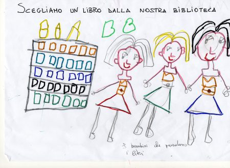 L'amore per i libri nei disegni dei bambini della scuola dell'infanzia Elve di Novara