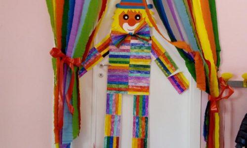 """Il """"Pagliaccio multicolor"""" dei bambini di Manfredonia per il concorso Fibracolor"""