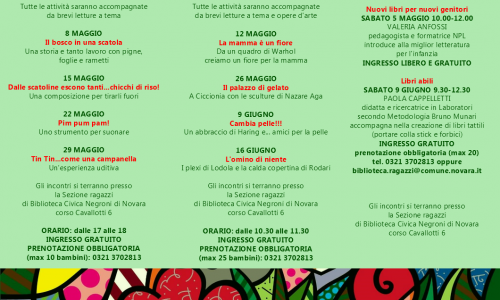 Valeria Anfossi e la migliore letteratura per l'infanzia: domani corso per insegnanti e genitori alla Biblioteca di Novara