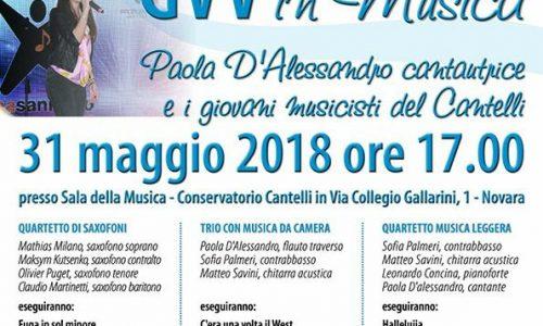 Oggi al Conservatorio Cantelli, Paola D'Alessandro e i giovani musicisti