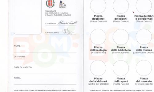 """Dal 18 maggio Novara fa """"BOOM"""" con il Festival dei bambini"""