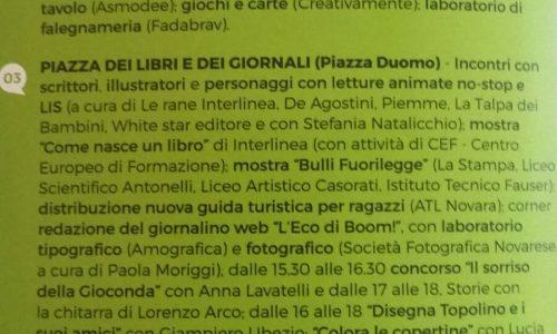 Domani alle 14 a Novara la Lingua Lis approda al Boom festival dei Bambini