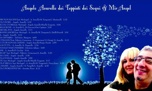 """Angelo Avarello dei Teppisti dei Sogni presenta """"AMO TE"""" feat. MirAngel , il nuovo sorprendente singolo tratto dall'album """"Dal mio Piccolo Fiore a… Amo te"""""""