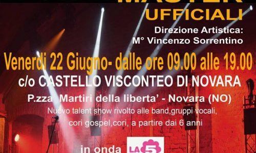 Il 22 giugno al Castello di Novara l'emozionante MASTER di iBAND