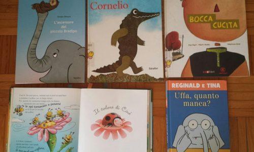 """La valigia carica di """"storie"""" di Livia in arrivo dalla Biblioteca di Novara alla scuola dell'infanzia Elve"""
