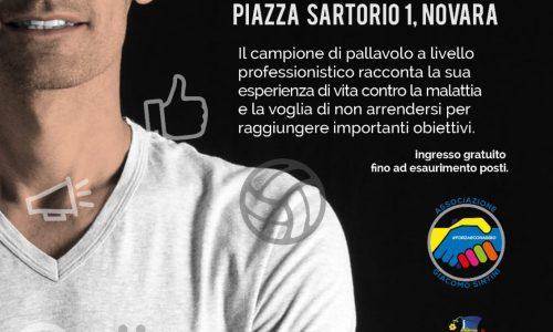 Il 10 ottobre a Novara, Jack Sintini si racconta