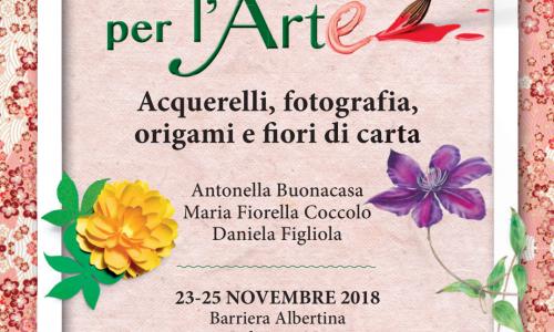 """""""Donne per l'arte"""": acquarelli, fotografia e origami alla Barriera Albertina di Novara"""