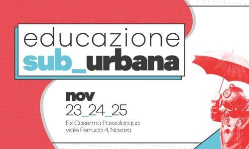 """""""Educazione sub urbana"""", 3 giorni dedicati al protagonismo giovanile nelle città in trasformazione"""
