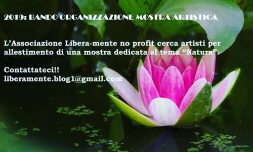 """Bando per l'organizzazione della mostra artistica """"Natura"""""""