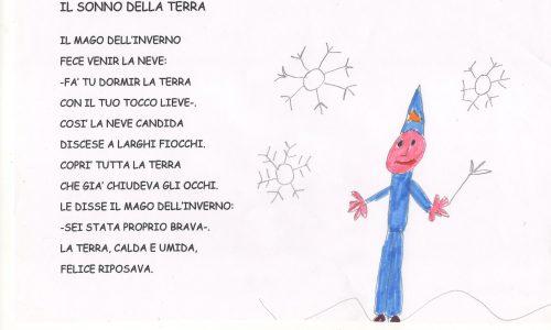 Poesie per bambini: CAMBIO PROGRAMMA (inverno)
