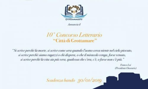 10° Concorso Letterario Città di Grottammare
