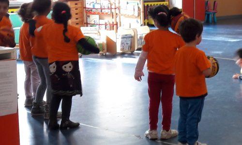 Grande successo per il Baskin alla scuola dell'infanzia ELVE FORTIS