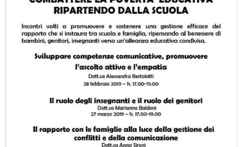 """A Novara incontri di formazione sulla """"povertà educativa"""" per insegnanti di scuola dell'infanzia"""