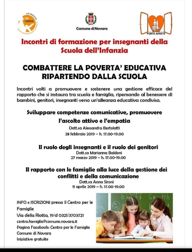 poverta' educativa