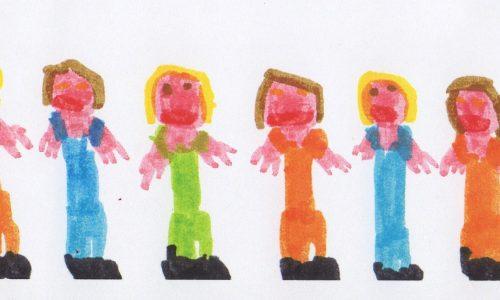 Poesie per bambini: LA FILA E' LUNGA!