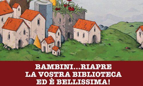 Oggi alle 16 l'attesa inaugurazione della Biblioteca dei Bambini di Novara