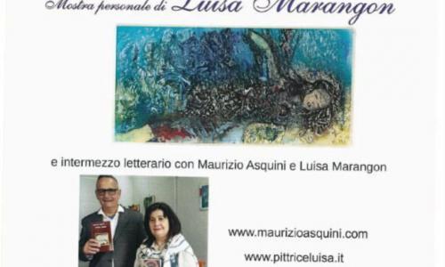 """""""Guarda e Leggi"""": Maurizio Asquini e Luisa Marangon a Oleggio tra letteratura e arte"""