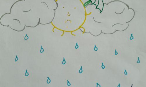 Poesie per bambini: PIOGGIA DI LUGLIO