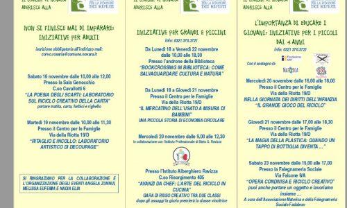 Interessanti iniziative per la settimana europea per la riduzione dei Rifiuti a Novara